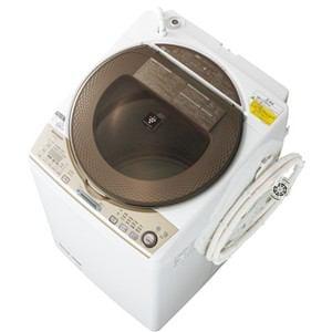 SHARP 洗濯乾燥機 (洗濯9.0kg/乾燥4.5kg) ゴールド系 ES-TX940-N