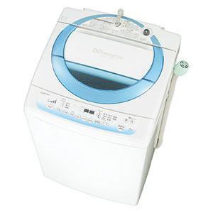 TOSHIBA 8.0kg 全自動洗濯機 シャイニーブルー AW-8D2-L
