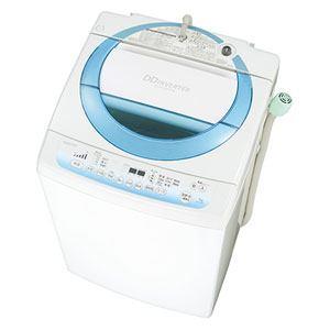 TOSHIBA 7.0kg 全自動洗濯機 シャイニーブルー AW-7D2-L