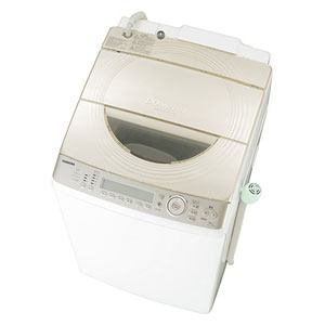東芝 洗濯乾燥機 (洗濯10kg/乾燥5kg) 「マジックドラム」 サテンゴールド AW-10SV2M-N