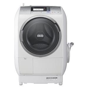 日立 ドラム式洗濯乾燥機 「ヒートリサイクル 風アイロン ビッグドラム」(洗濯10.0kg/乾燥6.0kg・左開き) シルバー BD-V9700L-S