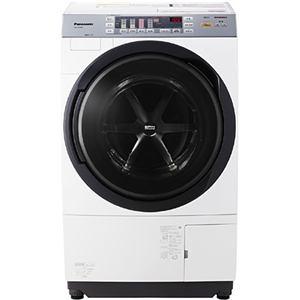 パナソニック ドラム式洗濯乾燥機 (洗濯9.0kg/乾燥6.0kg・左開き) クリスタルホワイト NA-VX3500L-W