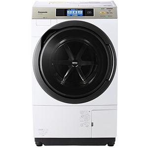 パナソニック ドラム式洗濯乾燥機 (洗濯10.0kg/乾燥6.0kg・右開き) クリスタルホワイト NA-VX9500R-W