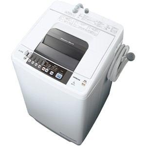 日立 全自動洗濯機 (洗濯7kg) ピュアホワイト NW-7TY-W