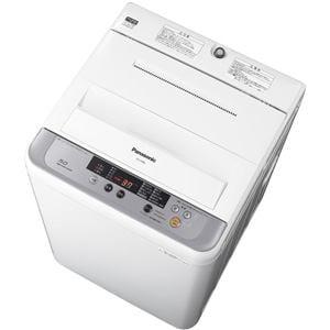 パナソニック 全自動洗濯機 (洗濯5.0kg) シルバー NA-F50B8-S