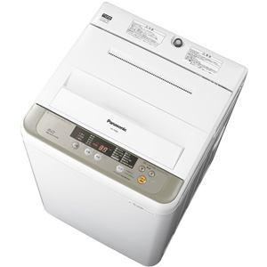 パナソニック 全自動洗濯機 (洗濯6.0kg) シャンパン NA-F60B8-N