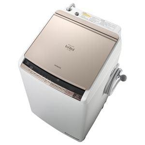 日立 洗濯乾燥機 「ビートウォッシュ」(洗濯9.0kg/乾燥5.0kg) シャンパン BW-D9WV-N