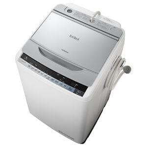 日立 全自動洗濯機 「ビートウォッシュ」(洗濯9.0kg) シルバー BW-9WV-S