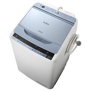 日立 全自動洗濯機 「ビートウォッシュ」(洗濯8.0kg) ブルー BW-8WV-A