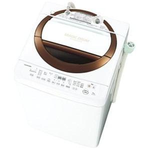 東芝 全自動洗濯機 (洗濯6.0kg) ブラウン AW-6D3M-T