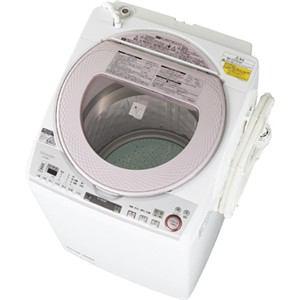 シャープ 洗濯乾燥機 (洗濯8.0kg/乾燥4.5kg) ピンク系 ES-TX850-P