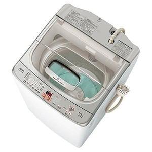 AQUA 全自動洗濯機 「ツインウォッシュ 」(洗濯10.0kg) クリアホワイト AQW-VW1000D-WX
