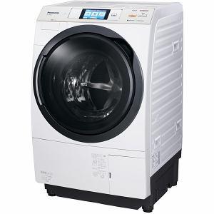 パナソニック ドラム式洗濯乾燥機 (洗濯10.0kg/乾燥6.0kg・左開き) クリスタルホワイト NA-VX9600L-W