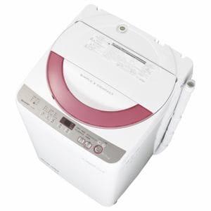 シャープ 全自動洗濯機 (洗濯6.0kg)ピンク系 ES-GE60R-P