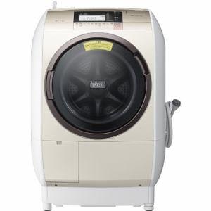 日立 ドラム式洗濯乾燥機 「ビッグドラム」(洗濯11.0kg/乾燥6.0kg・左開き) シャンパン BD-V9800L-N