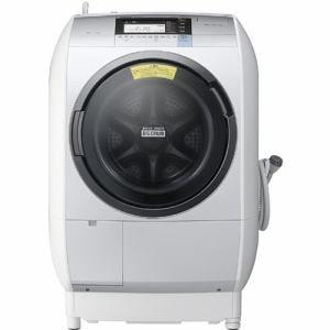 日立 ドラム式洗濯乾燥機 「ビッグドラム」(洗濯11.0kg/乾燥6.0kg・左開き) シルバー BD-V9800L-S