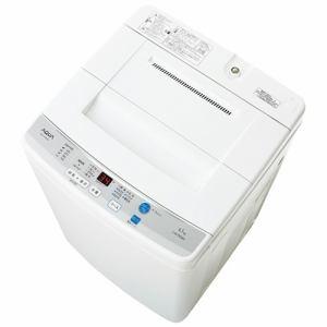 AQUA 全自動洗濯機 (洗濯4.5kg) ホワイト AQW-S45D(W)