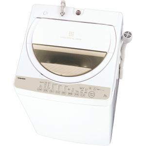 東芝 全自動洗濯機 6kg ホワイト系 AW-6G3(W)