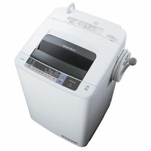 日立 全自動洗濯機 「白い約束」(洗濯8.0kg) ピュアホワイト NW-8WY-W