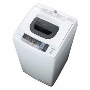 日立 全自動洗濯機 「白い約束」(洗濯5.0kg) ピュアホワイト NW-5WR-W