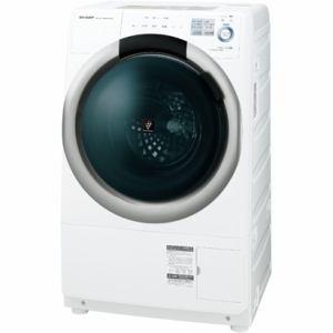 シャープ ES-S7A-WL ドラム式洗濯乾燥機 ホワイト系・左開き