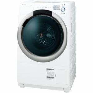 シャープ ES-S7A-WR ドラム式洗濯乾燥機 ホワイト系・右開き