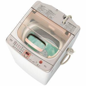AQUA AQW-VW1000E(WX) 全自動洗濯機 (洗濯10.0kg)「ツインウォッシュ」 クリアホワイト
