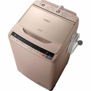 日立 BW-V100A-N 全自動洗濯機(洗濯10.0kg)「ビートウォッシュ」 シャンパン
