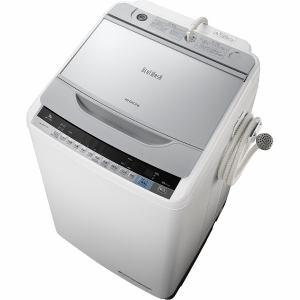 日立 BW-V90A-S 全自動洗濯機(洗濯9.0kg)「ビートウォッシュ」 シルバー
