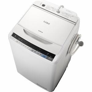 日立 BW-V80A-W 全自動洗濯機(洗濯8.0kg)「ビートウォッシュ」 ホワイト