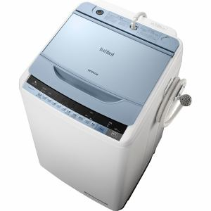 日立 BW-V80A-A 全自動洗濯機(洗濯8.0kg)「ビートウォッシュ」 ブルー