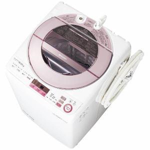 シャープ ES-GV8A-P 全自動洗濯機 (洗濯8.0kg) ピンク系