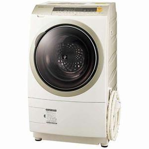 シャープ ES-ZP1-NR ドラム式洗濯乾燥機 (洗濯10.0kg/乾燥6.0kg・右開き) ゴールド系