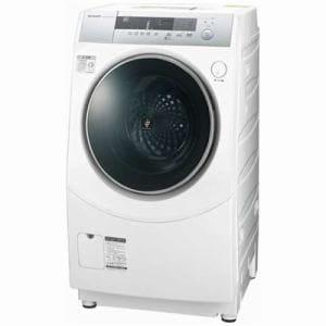 シャープ ES-ZH1-WL ドラム式洗濯乾燥機 (洗濯10.0kg/乾燥6.0kg・左開き) ホワイト系