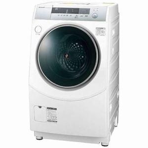シャープ ES-ZH1-WR ドラム式洗濯乾燥機 (洗濯10.0kg/乾燥6.0kg・右開き) ホワイト系