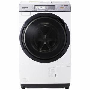 パナソニック NA-VX8700L-W ドラム式洗濯乾燥機 (洗濯11.0kg/乾燥6.0kg・左開き) クリスタルホワイト