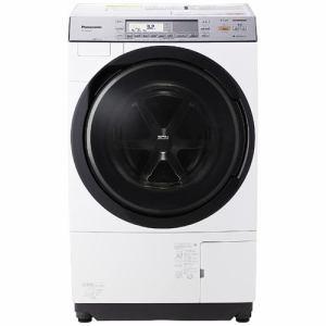 パナソニック NA-VX8700R-W ドラム式洗濯乾燥機 (洗濯11.0kg/乾燥6.0kg・右開き) クリスタルホワイト