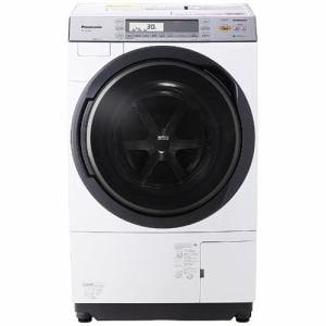 パナソニック NA-VX7700L-W ドラム式洗濯乾燥機 (洗濯10.0kg/乾燥6.0kg・左開き) クリスタルホワイト