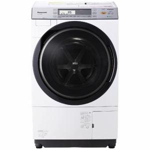 パナソニック NA-VX7700R-W ドラム式洗濯乾燥機 (洗濯10.0kg/乾燥6.0kg・右開き) クリスタルホワイト