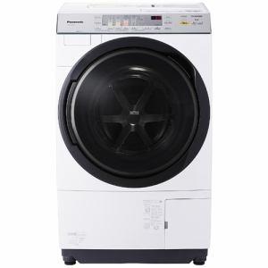 パナソニック NA-VX3700L-W ドラム式洗濯乾燥機 (洗濯10.0kg/乾燥6.0kg・左開き) クリスタルホワイト