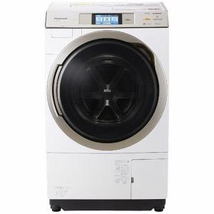 パナソニック NA-VX9700L-W ドラム式洗濯乾燥機 (洗濯11.0kg/乾燥6.0kg・左開き) クリスタルホワイト