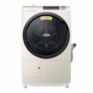 日立 BD-SV110AL-N ドラム式洗濯乾燥機「ビックドラムスリム」(洗濯11.0kg/乾燥6.0kg・左開き) シャンパン