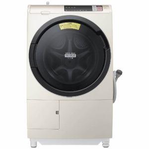 日立 BD-SV110AR-N ドラム式洗濯乾燥機「ビックドラムスリム」(洗濯11.0kg/乾燥6.0kg・右開き) シャンパン