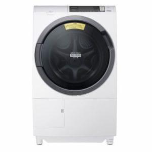 日立 BD-SG100AL-W ドラム式洗濯乾燥機「ビッグドラムスリム」(洗濯10.0kg/乾燥6.0kg・左開き) ホワイト
