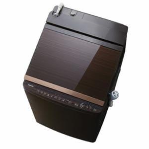東芝 AW-10SV5(T) タテ型洗濯乾燥機 「マジックドラム」(洗濯10.0kg/乾燥5.0kg) グレインブラウン