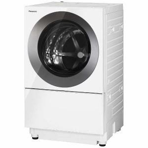 パナソニック NA-VS1100L-S ドラム式洗濯機 「Cuble(キューブル)」 (洗濯10.0kg・左開き) アイアンシルバー