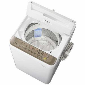 パナソニック NA-F60PB10-T 全自動洗濯機 (洗濯6.0kg) ブラウン