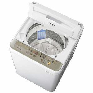 パナソニック NA-F60B10-N 全自動洗濯機 (洗濯6.0kg) シャンパン