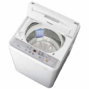 パナソニック NA-F50B10-S 全自動洗濯機 (洗濯5.0kg) シルバー
