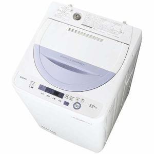 シャープ ES-GE5A-V 全自動洗濯機 (洗濯5.0kg) バイオレット系